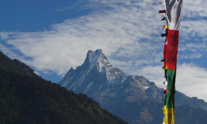 Belvédère des Annapurnas -Trek facile