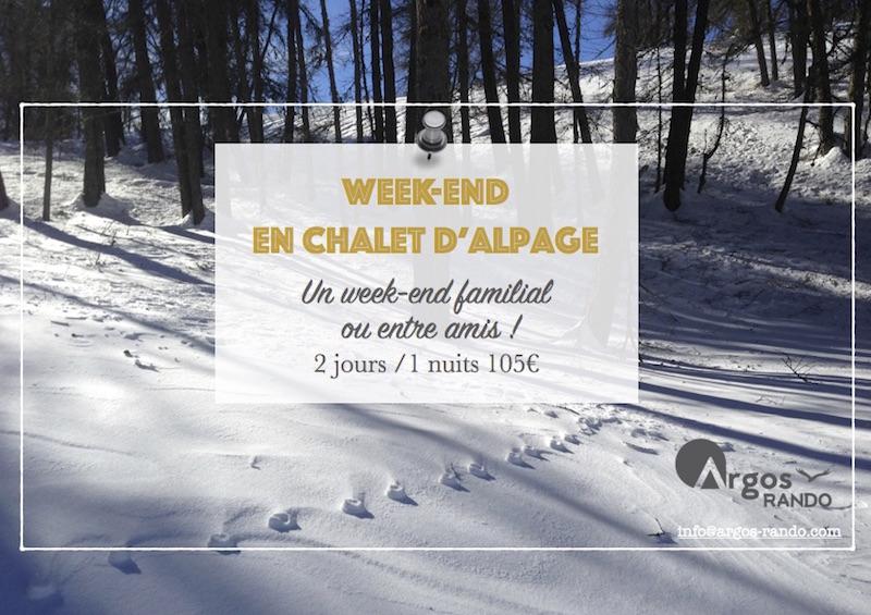 Week-end au chalet d'alpage
