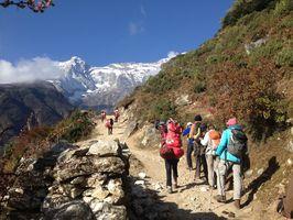 Nepal- Pikey Peak (4068m) et Chimding village