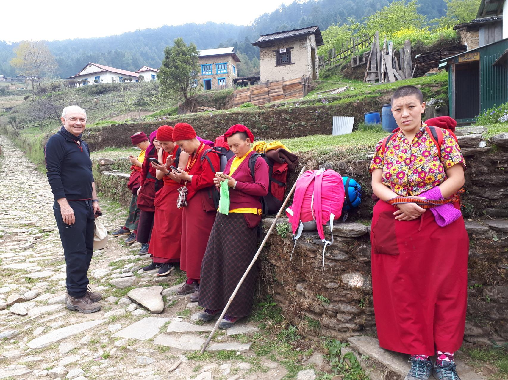 trek et meditation au nepal