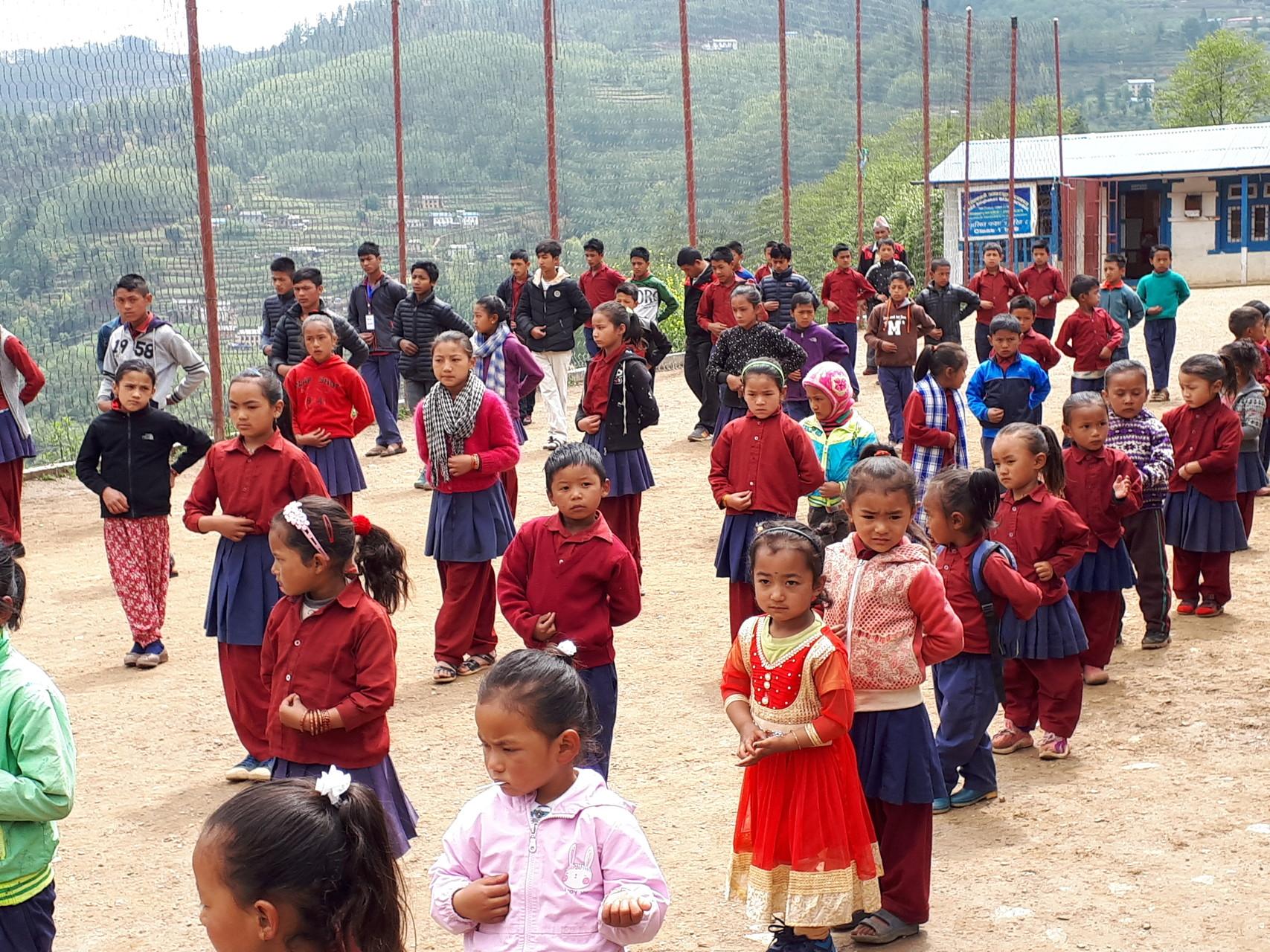 trek et meditation au Népal