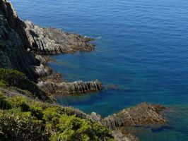 Dans les îles de Porquerolles et Port Cros