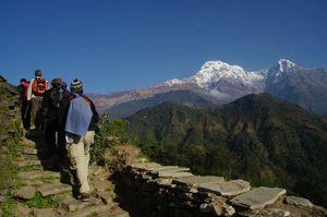 Le belvédère des Annapurnas - Chitwan -Vallée de Katmandou