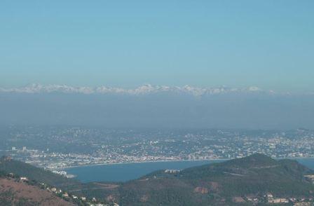 Mercantour enneigé et Préalpes d'Azur