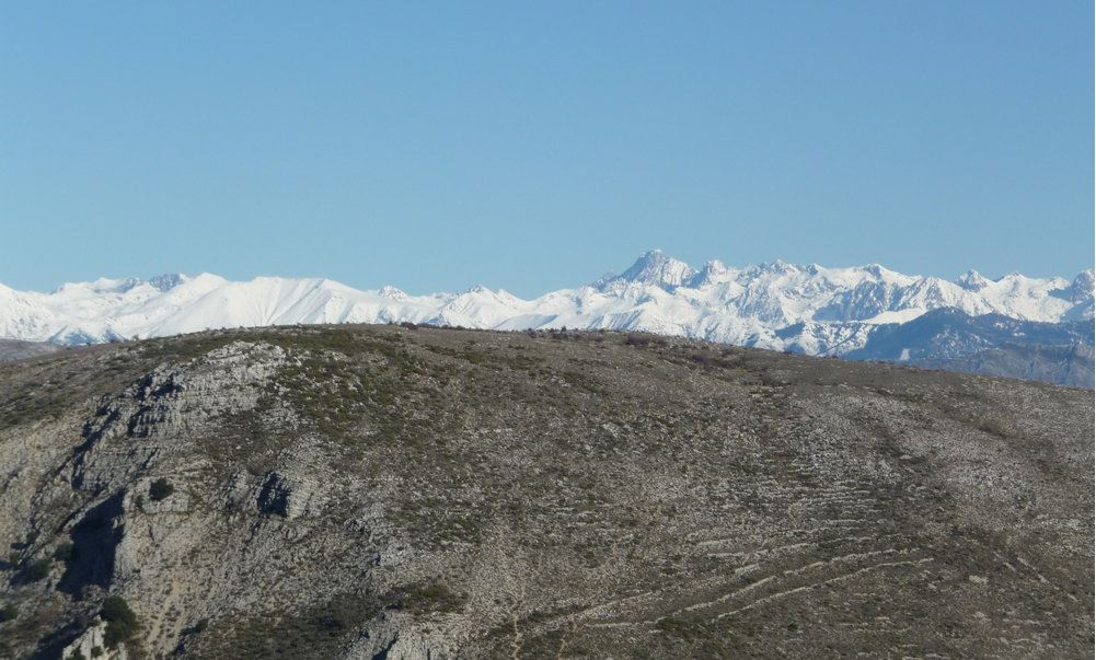 pic de coumettes Montagnes enneigées et Paysages Méditerranéens ARGOS RANDO