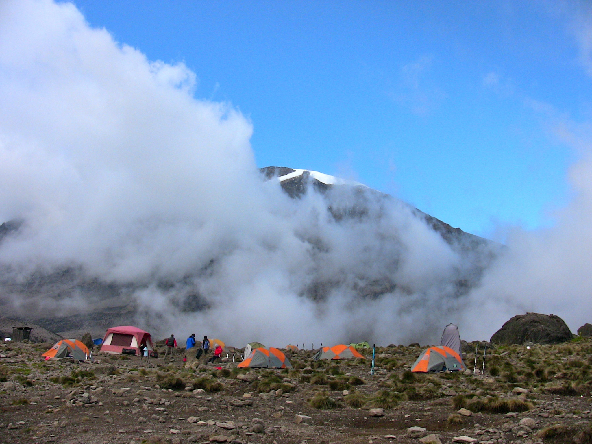 ascension sommet du Kilimandjaro