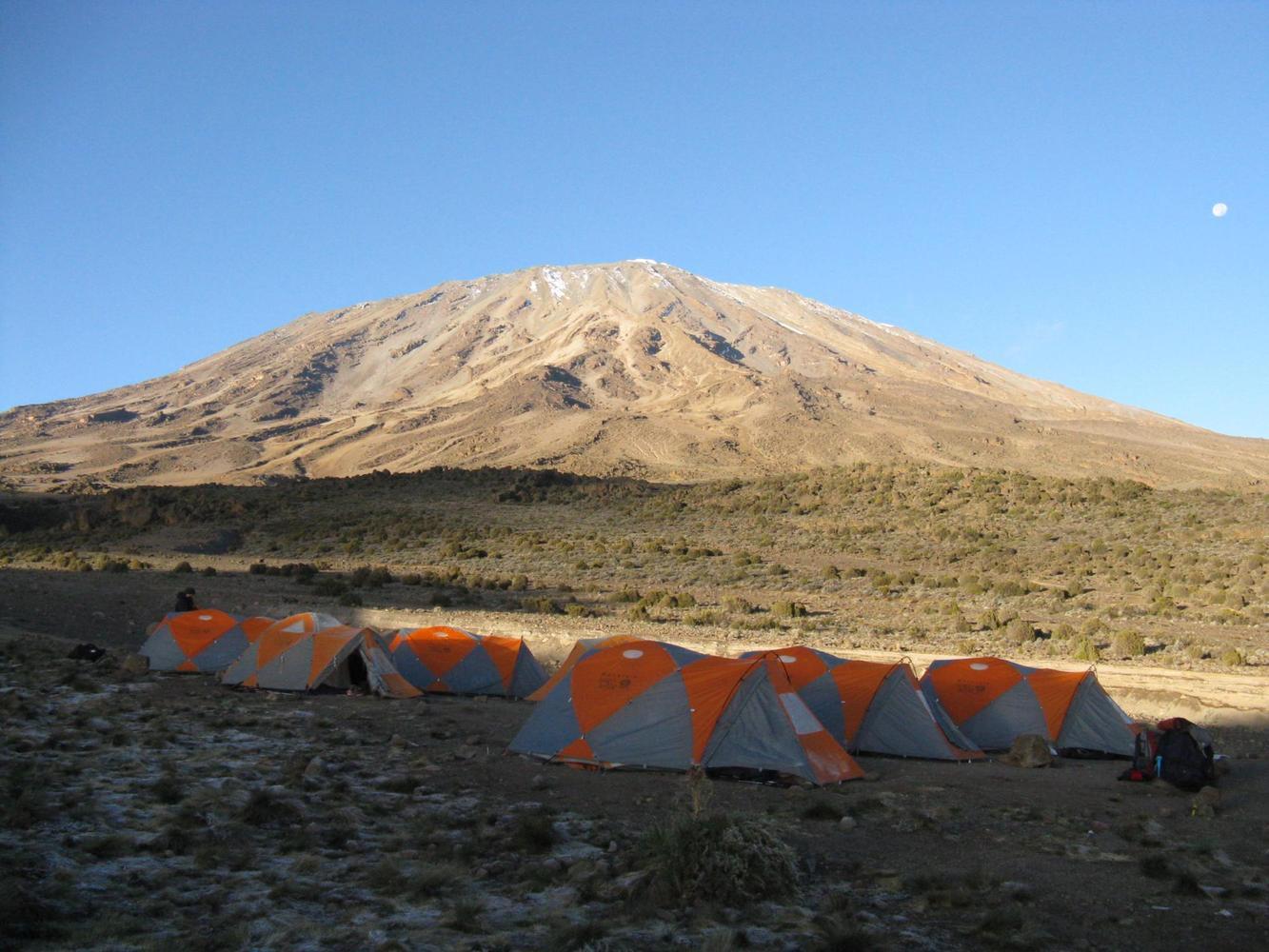 sous le Kilimandjaro